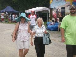 Gram & Aunt Lorraine showed up