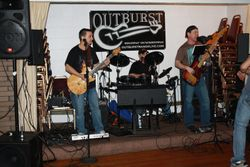 Outburst entertained and rocked the place!