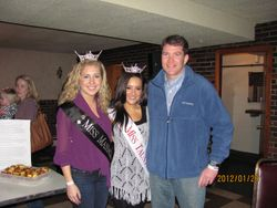 Miss Massachusett, Miss Taunton & Mayor Hoye