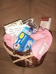 Memorial donation basket