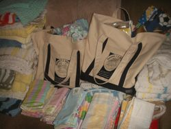 Memorial donation bags & a blanket for every baby