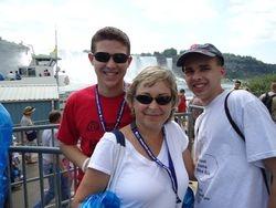 Danny, Ann Marie & TJ