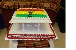 Ghana Flag Cake