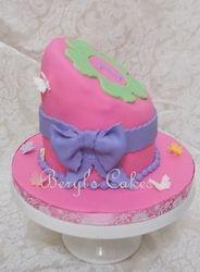 Fairy Themed Topsy Turvy Cake