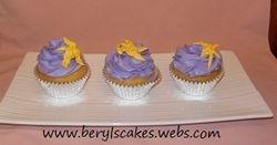 Rapunzel Lantern Cupcake