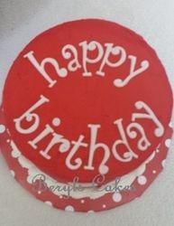 Red M&M Cake