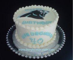 Carolina Panters Cake