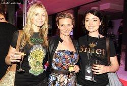 Siobhan Marshall, Beth Allen and Antonia Prebble