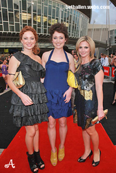 Hannah Marshall, Antonia Prebble and Beth Allen