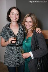 Antonia Prebble and Beth Allen
