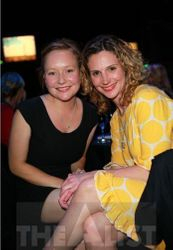 Beth Allen and Esther Stephens