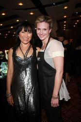 Beth Allen as a waitress. (Tina Ross on the left)