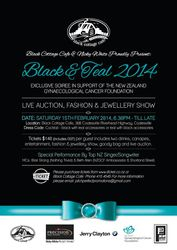 Black and Teal 2014