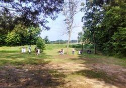 The practice range