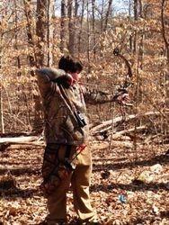 Shooter on the range