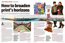 London Frieze Article - Printweek