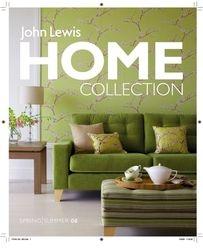 John Lewis Home Brochure Cover ORIGINAL