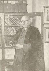 Mr Jones, former Headmaster