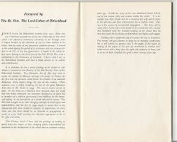 Preface to Visor by Lord Cohen