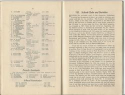 Staff List from 1889 - 1959 Edition