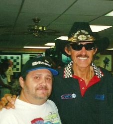 With one of my heroes Richard Petty