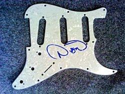 Dion signed Strat pickguard