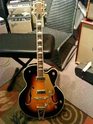 My baby 1956 Gretsch Country Club