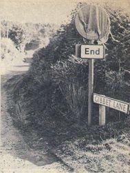 Kinver. Gibbet Lane.