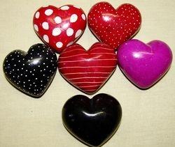 Soap Stone Heart