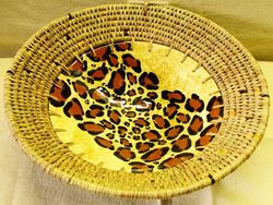 Ceramic Bowl Leopard Print