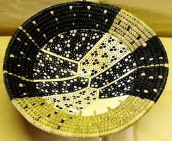 Ceramic Bowl Pebbles Print