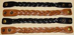 Leather Bracelet Plait