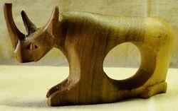 Napkin Ring Rhino