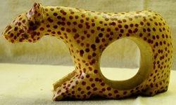 Napkin Ring Leopard