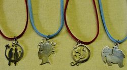 Leather Cord Necklace (Assorted)
