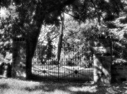 Gates of Neshaminy Cemetery