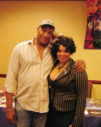 """me with Tony Todd (""""Candyman"""")"""