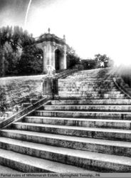 Ruins of a staircase