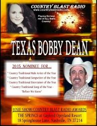 Poster of 2015 Country Blast Radio Award Show