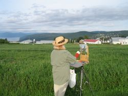 Painting in Quebec