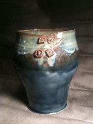 Buttoned up vase