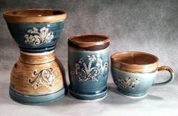Daisy Designs on Bowls, Cups & Teacups