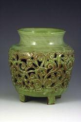 Carved Jar