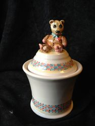 Teddy Bear Wish Pot