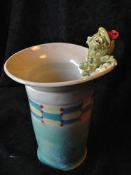 Froggy Vase