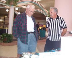 Ref Warren Campbell and Dick Kelley