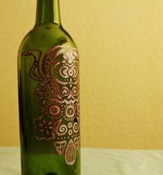 Green Glass Detail