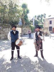 Carlos e Ramón na Calzada en Cambados