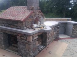 Exterior Fire Place