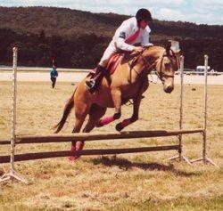 Chris Doherty Riding Ti Na Rebellion
